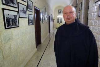 Franciscan Father Hanna Jallouf and the others were abducted from Knayeh, a small Christian village in northwestern Syria, the Franciscan Custody of the Holy Land confirmed Oct. 7.