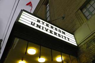 Robert Brehl writes about the political correctness surrounding the recent controversy regarding Ryerson University's namesake, Egerton Ryerson.