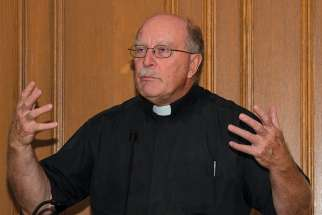 Fr. Mark Miller says the challenge is to preserve spiritual care in a health care industry largely driven by technology.