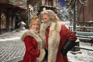 Kurt Russell and Goldie Hawn star in The Christmas Chronicles 2, which was filmed in B.C.