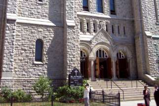 St. Patrick's Church in downtown Toronto.