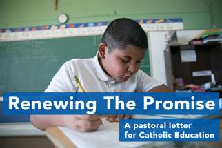 Ontario bishops commit to 'renewing the promise' of Catholic education