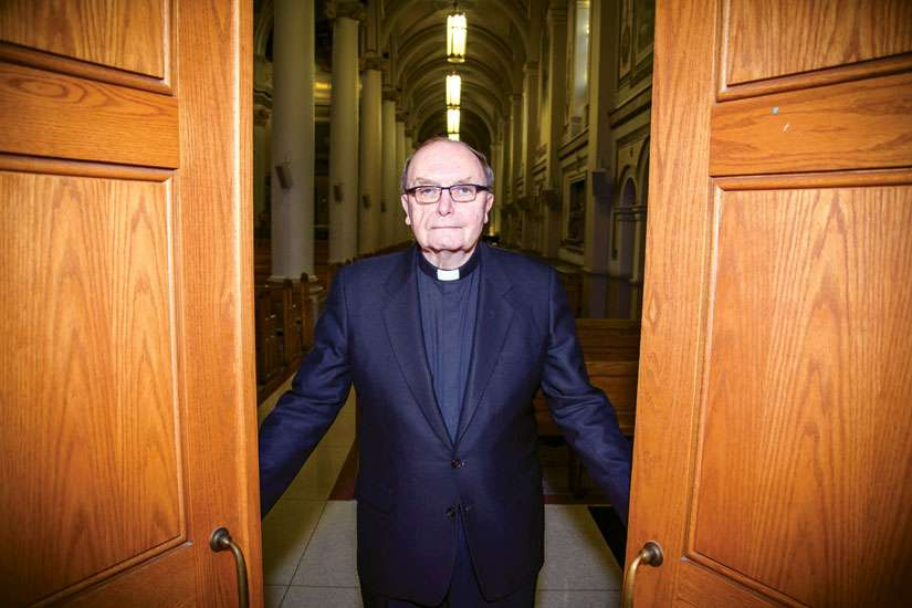 Fr. Edward Smith looks forward to welcoming Holy Door pilgrimages to St. Paul's Basilica in Toronto during the Year of Mercy.
