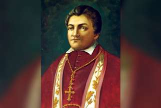 At the Archdiocese of Toronto's 175th anniversary celebration Mass May 30, Cardinal Thomas Collins announced his plan to initiate the cause for canonization of Bishop Michael Power, pictured, Toronto's first bishop.