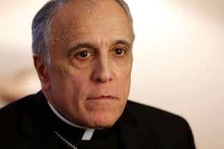 Cardinal Daniel N. DiNardo of Galveston-Houston, president of the U.S. Conference of Catholic Bishops, is pictured during an interview at the Pontifical North American College in Rome Feb. 24, 2019. Cardinal DiNardo represented the U.S. bishops at the Vatican's four-day meeting on the protection of minors in the church.