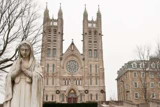 "High atop ""Catholic Hill"" in Guelph, Ont., sits the Church of Our Lady Immaculate. The church was designated a basilica earlier this month. Among its past parishioners is Toronto's Cardinal Thomas Collins."