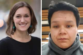 Emelie Callan and Jacob Jason Genaille-Dustyhorn will be representing Canadian youth in Rome in March at the pre-synodal meeting on the youth.