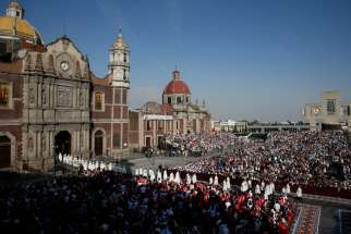 Basilica of Our Lady of Guadalupe. Pope Francis has divided the Archdiocese of Mexico City; what remains part of that archdiocese includes the basilica.