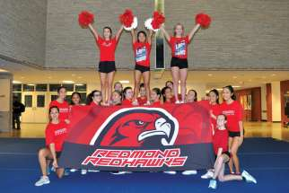 This is the first time in the school's history that the cheer team has qualified to compete at the World School Cheerleading Championship. Team coach Maddalena Bitondo said the team's faith and hard work have played a significant role in the team's success.