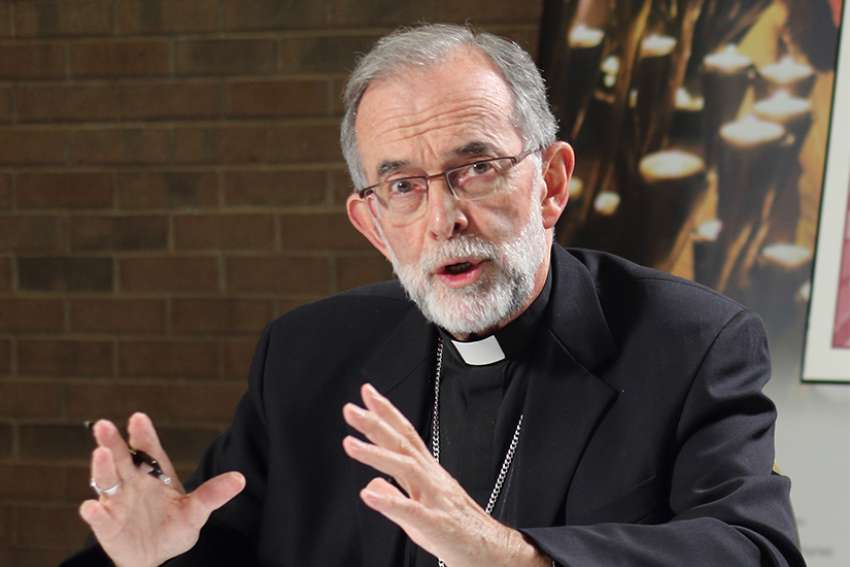 Bishop Lionel Gendron will be joined by three other Canadian bishops to attend the Youth Synod in Oct.