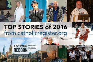 The Catholic Register has compiled some of the most popular stories of 2016.