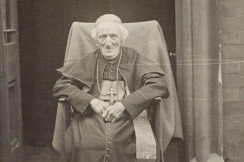 Cardinal Henry Newman in May 1890.