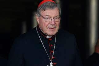 At a book presentation at the Vatican, Cardinal George Pell talked about the positives and negatives of technology, Donald Trump's presidency and Brexit.