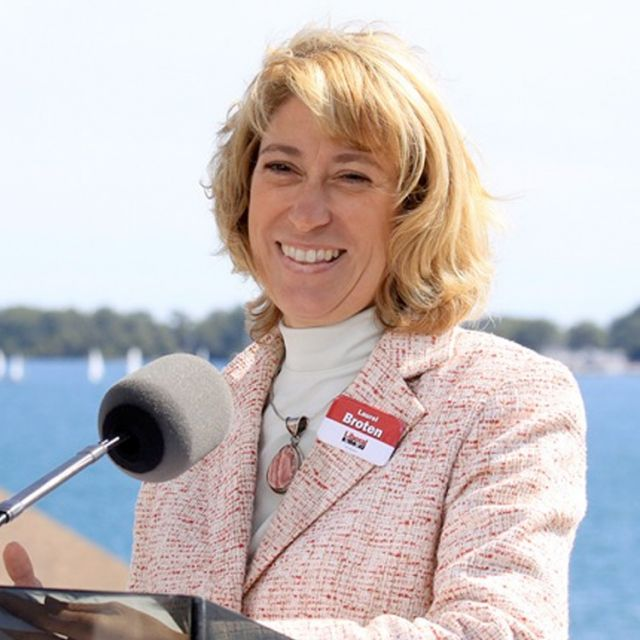 "Education Minister Laurel Broten ""respects the constitutional protection of Catholic education."""