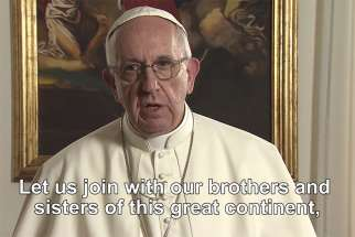In the May edition of 'The Pope Video,' Pope Francis asks the Catholic community to pray for reconciliation, justice and peace in Africa.