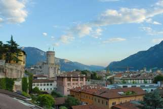 A photo of Trento, Italy from 2006. The Daughters of the Sacred Heart Institute in Trento was fined for dismissing a gay teacher at the school.