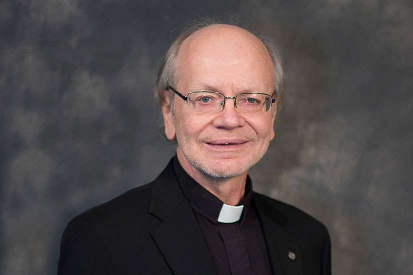 Basilian Father Robert Kasun, seen here on June 10, has been appointed the newest auxiliary bishop of the Archdiocese of Toronto.