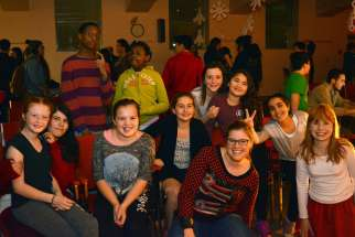 Local youth groups celebrated Advent together at the Archdiocese of Ottawa's first youth fellowship event.