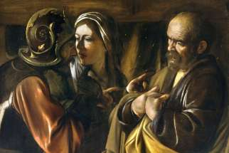 The Denial of Saint Peter, by Caravaggio