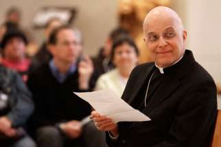 Cardinal Francis George, who retired as archbishop of Chicago in 2014, died April 17 after a long battle with cancer. He is pictured in a 2013 photo.