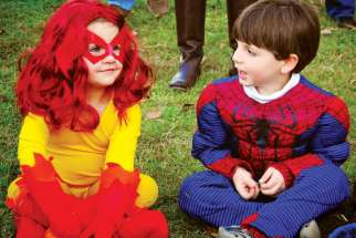 At Camp Vincent, one week of camp allows children to be their favourite superhero.