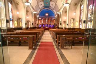 Churches in areas around Toronto will be empty after additional lockdown measures.