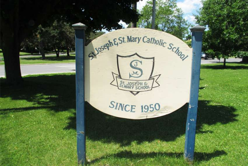 St. Joseph's School occupied the corner of Brock and Napier for 65 years, closing in 2015.