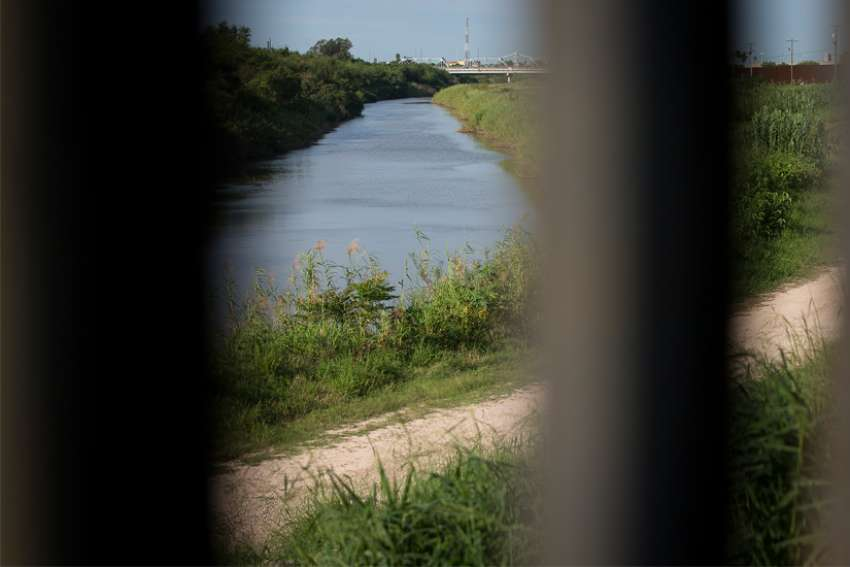 A view of the Rio Grande River is seen from Brownsville, Texas, in this 2016 file photo. Leadership of the U.S. Conference of Catholic Bishops in an op-ed cast blame on government policies for recent child deaths near the U.S.-Mexico border.