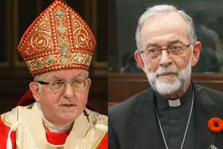Cardinal Collins testified via video conferencing on Oct. 30, along with the president of the CCCB Bishop Lionel Gendron of Saint-Jean-Longueuil and Bill Simpson, a criminal lawyer, who attended the session in Ottawa.