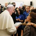 Pope says only men can be priests, but women must have voice in church