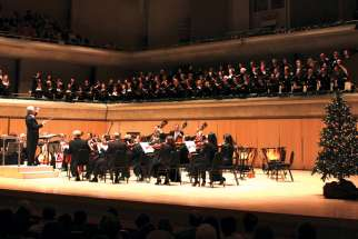The Toronto Symphony Orchestra performs Handel's Messiah this year for the 82nd year.