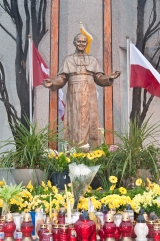 The John Paul II Monument on Roncesvalles Avenue