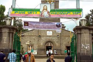 The majority of Ethiopian Christians are Orthodox, and churches like the Jesus Church in Addis Ababa are never empty.