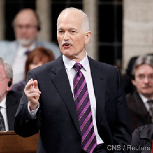 Opposition Leader Jack Layton has criticized the budget and feels families could be hit hard.