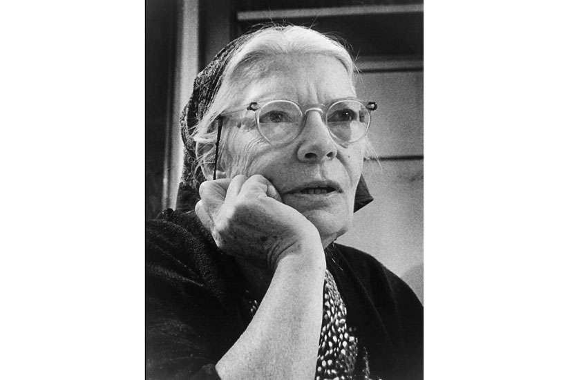 Dorothy Day, co-founder of the Catholic Worker Movement, is pictured in an undated photo. Cardinal Timothy M. Dolan of New York has opened the canonical inquiry on the life of the social justice advocate, the archdiocese announced April 19.