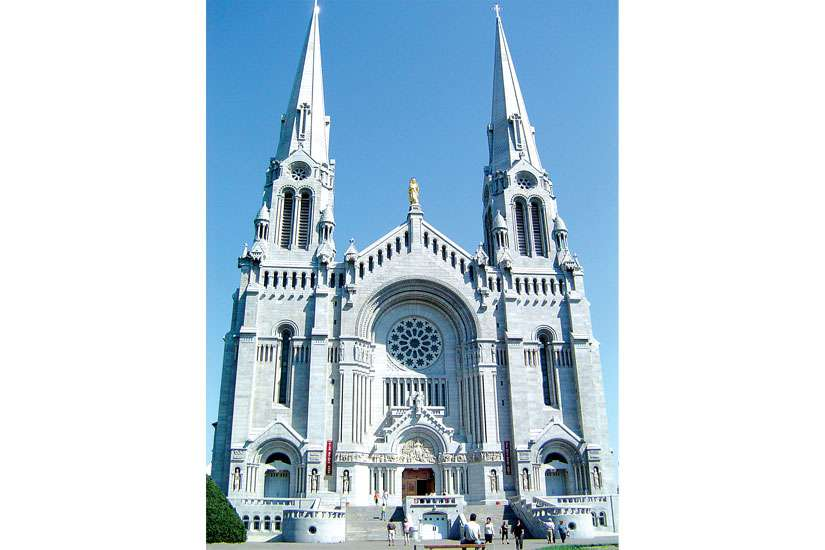 The Basilica of St. Anne de Beaupré is one of the many sites that GTA Catholics will be visiting on their first annual pilgrimage this Canada Day weekend.