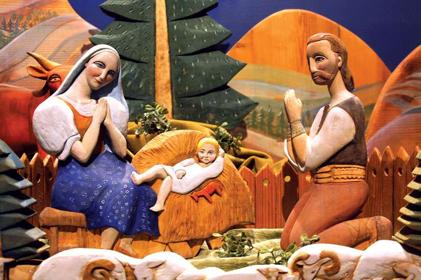 Montreal's St. Joseph's Oratory has hosted an annual display of creches from around the world since 1979.