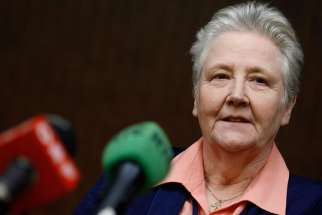 Marie Collins, an Irish abuse victim whom Francis named to a Vatican commission to promote reforms.