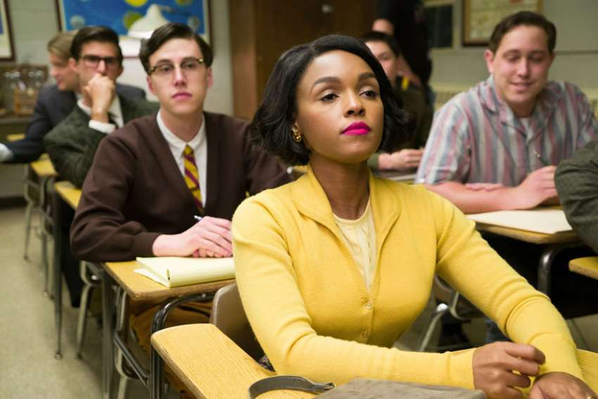 "Janelle Monae stars in a scene from the movie ""Hidden Figures."""