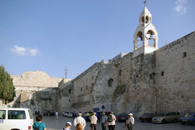 The Church of the Nativity in Bethlehem.