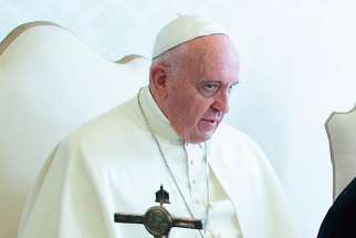 Pope launches alarm, tells Vatican security force to be 'gossip police'