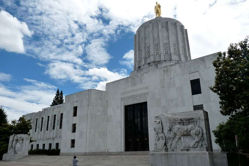 A law that requires health insurers to cover abortion on demand was passed 33-23 in the Oregon House and 17-13 in the Senate.