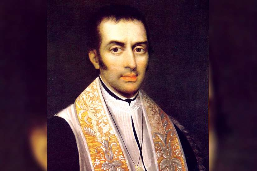 St. Eugene de Mazenod was ordained in 1811 and founded the Missionary Oblates of Mary Immaculate in 1816.