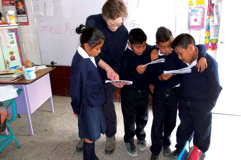 Patricia Rehak and her husband Daniel are supporting Guatemalan schools through Together Education Works.