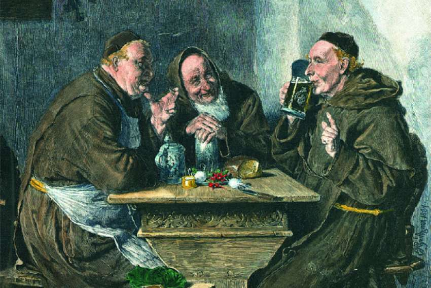 Back in the 1600s, the Paulaner monks brewed beer specifically for a liquid-only fast during Lent.