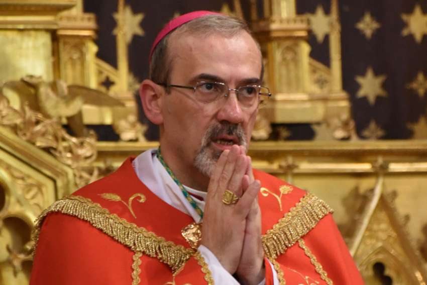Archbishop Pierbattista Pizzaballa, apostolic administrator of the Latin Patriarchate of Jerusalem, said Christians are suffering the same fate as their fellow citizens in the Middle East.