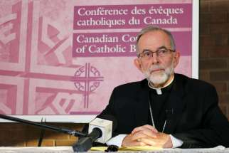 Bishop Lionel Gendron, president of the CCCB, said some bishops are concerned the Pope could be sued if he were to apologize in Canada for the Church's role in residential schools.