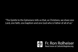 All Christians share the bond of faith