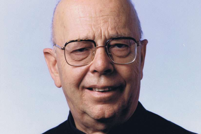 Father Gabriele Amorth, exorcist for the Diocese of Rome, died Sept. 16 at age 91. He is pictured in an undated photo.