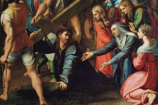 Il Spasimo, Jesus carrying the cross, by Raphael, 1516